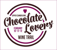 Chocolate Lover's Wine Trail Logo